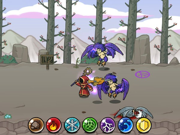 Game cho iphone 4 Magicka: Wizards of the Square Tablet