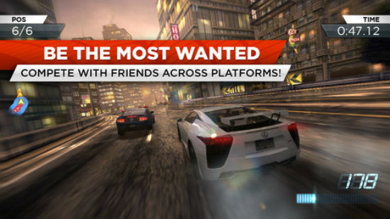 Tải Need for Speed: Most Wanted phiên bản game cho iOS ảnh 4