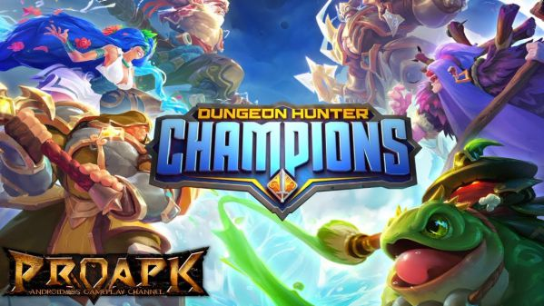 [Mời tải] Dungeon Hunter Champions siêu phẩm mới của Gameloft